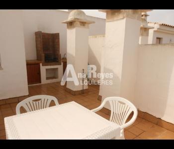 Alquiler de coqueto ático con preciosas vista en Zahara de los Atunes