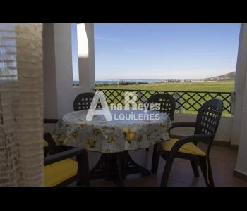 Alquiler apartamento con inmejorables vistas en la urbanización Atlanterra Sol en Zahara de los Atunes